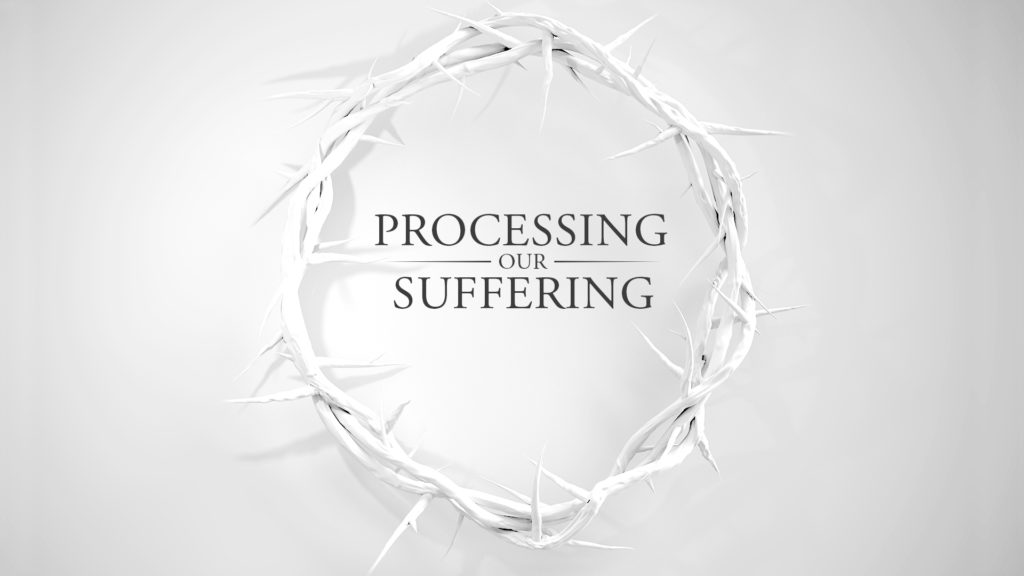 Processing Our Suffering