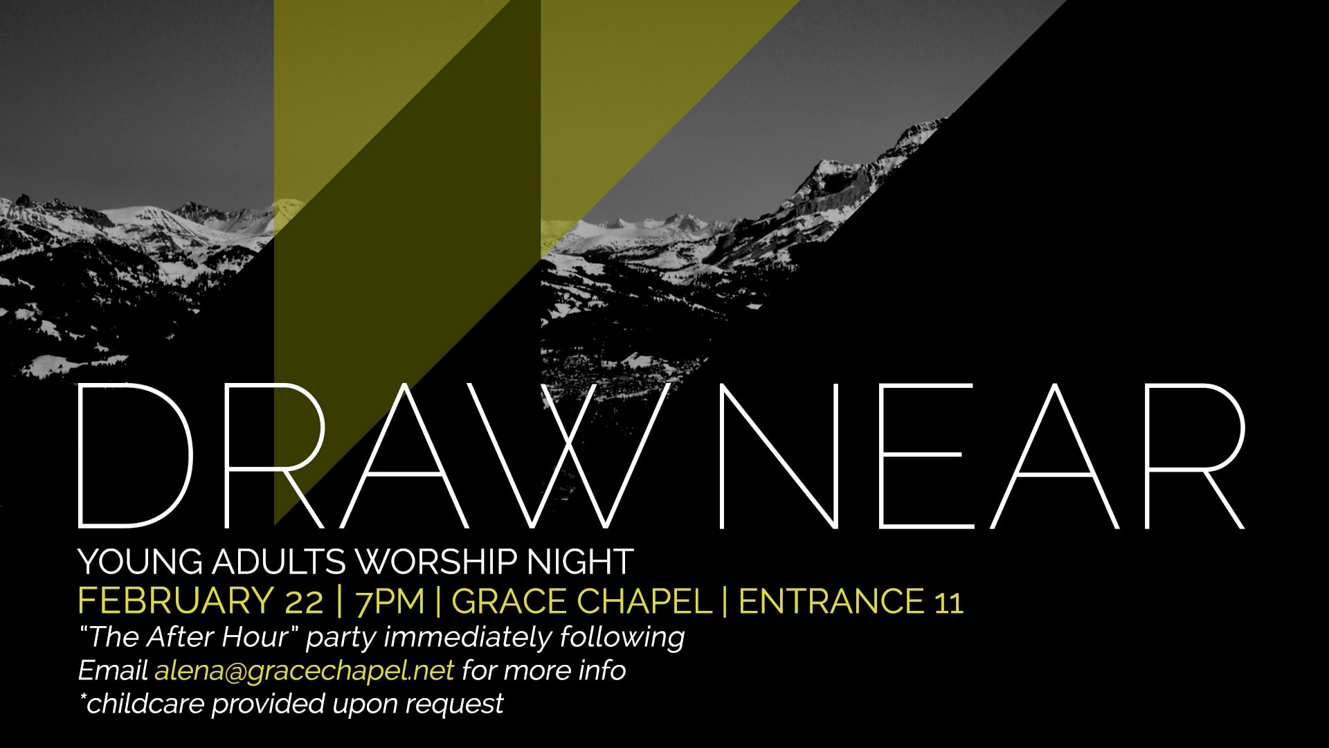 Draw Near Young Adults Worship Night Grace Chapel