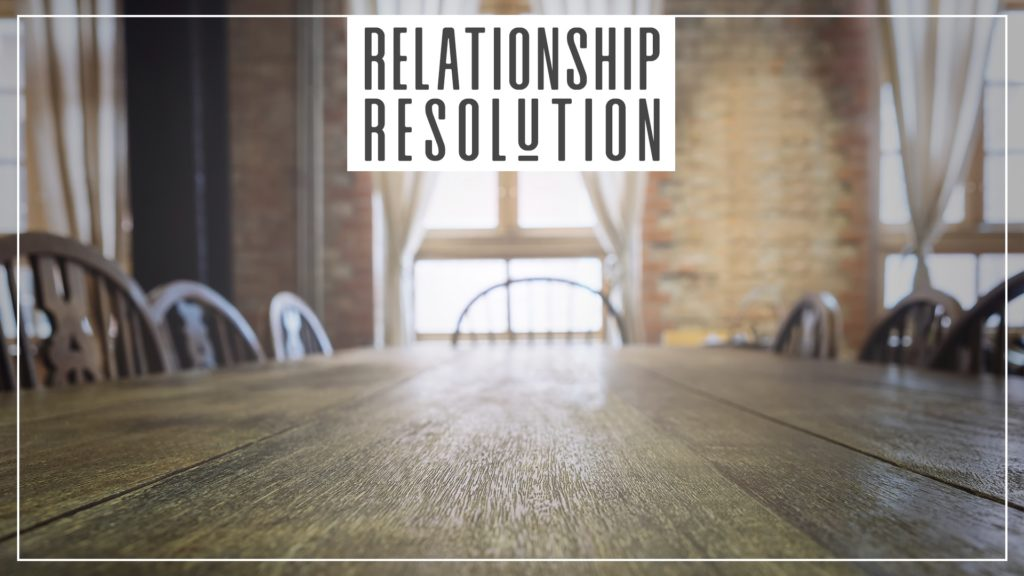 Relationship Resolution