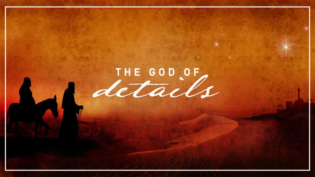 god of details