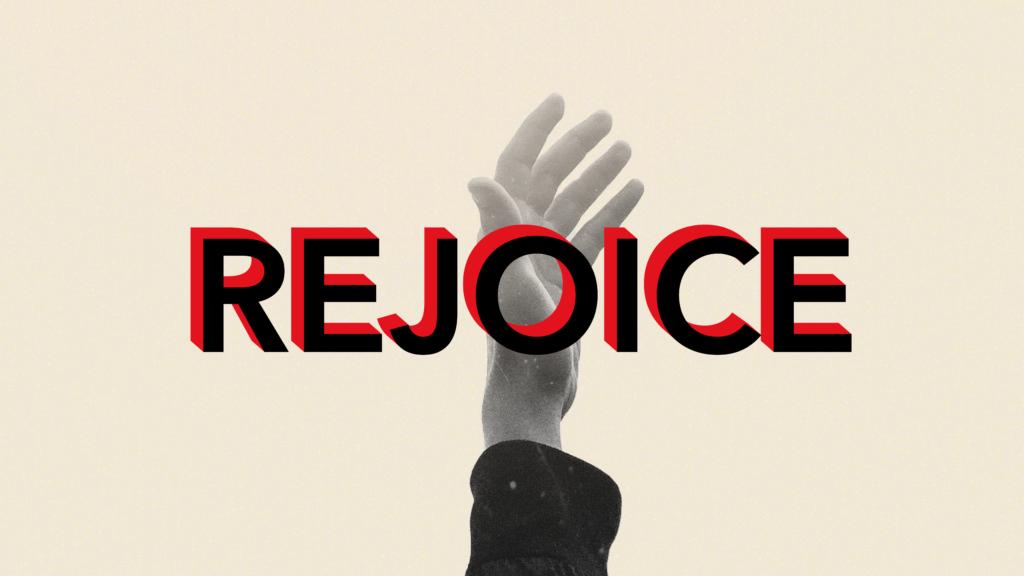 Rejoice Black Red Block